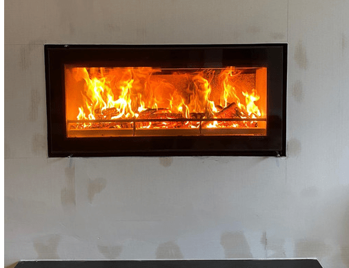 built-in wood-burning fires