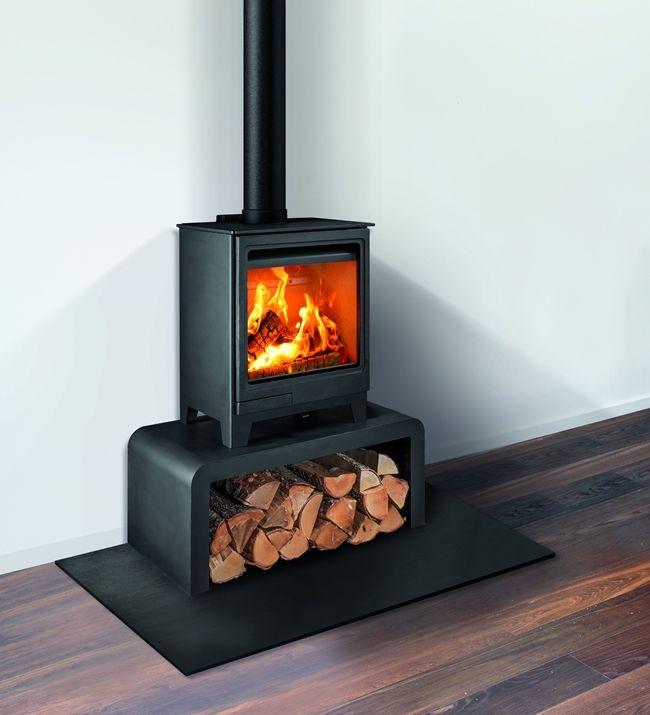 cylindrical wood burning stove