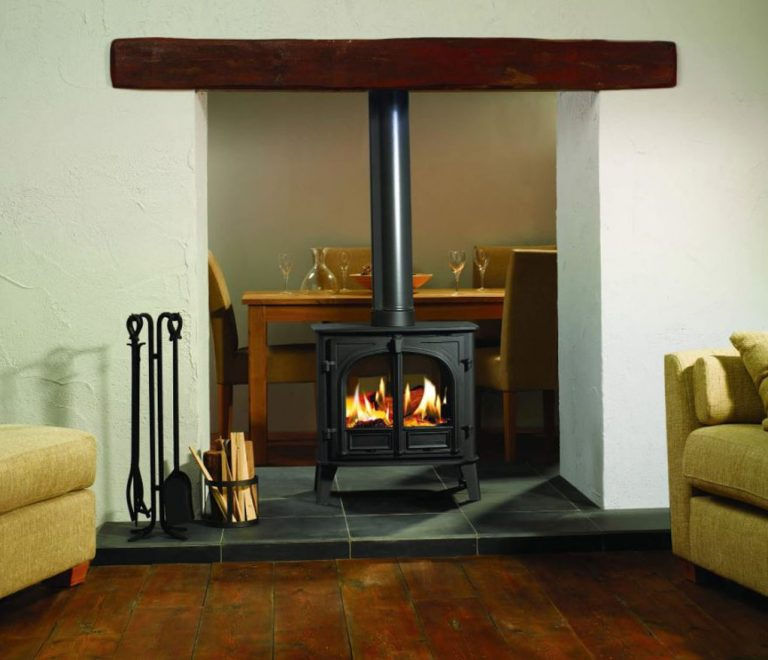 Double Sided Wood Burner