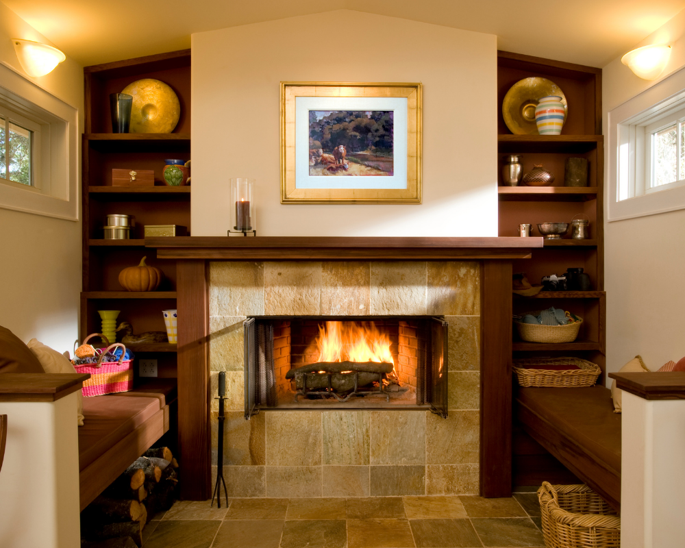 What paint to use near a wood-burning stove