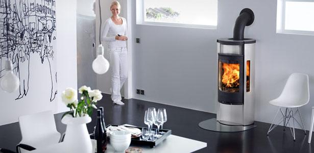 Modern wood burner